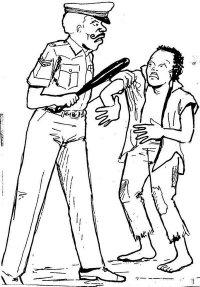 hentikan intimidasi oknum polisi terhadap petani
